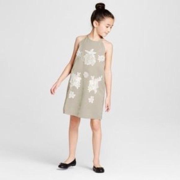 a095ed474 Victoria Beckham for Target Dresses | Girls Med Sage Green Dress ...
